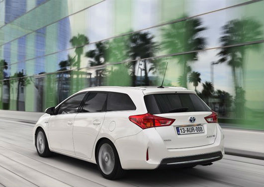 Toyota Auris Touring Sports Back View