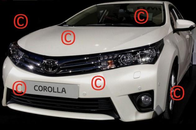 Toyota Corolla Furia Concept uncovered