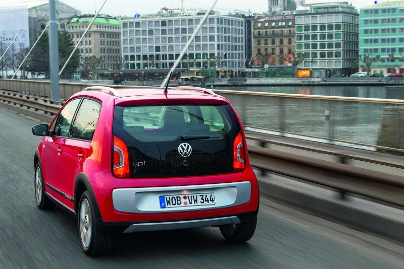 Volkswagen Cross Up Back View