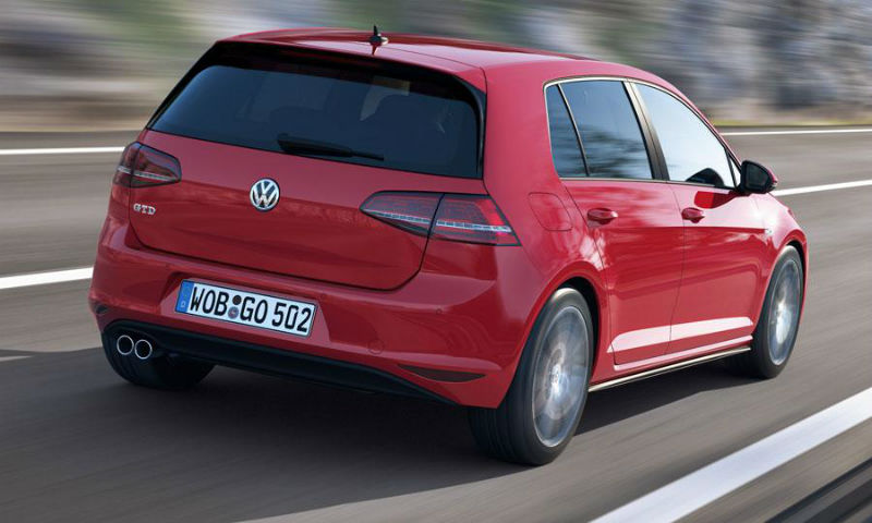 Volkswagen Golf GTD Back View