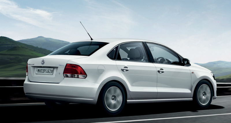 Volkswagen Vento Back View