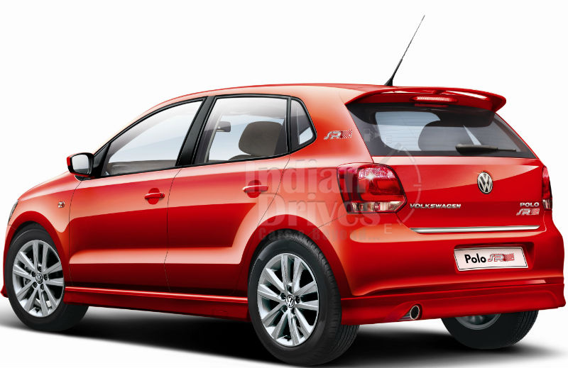 Volkswagen Polo SR Back View