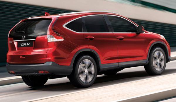 2013 Honda CR V Back View