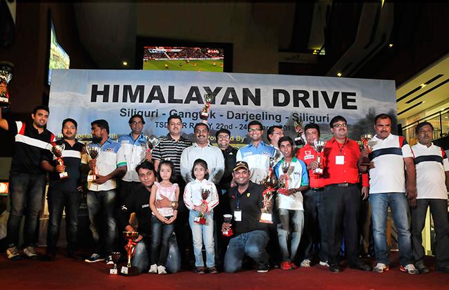 2013 JK Tyre Himalayan Drive TSD Rally