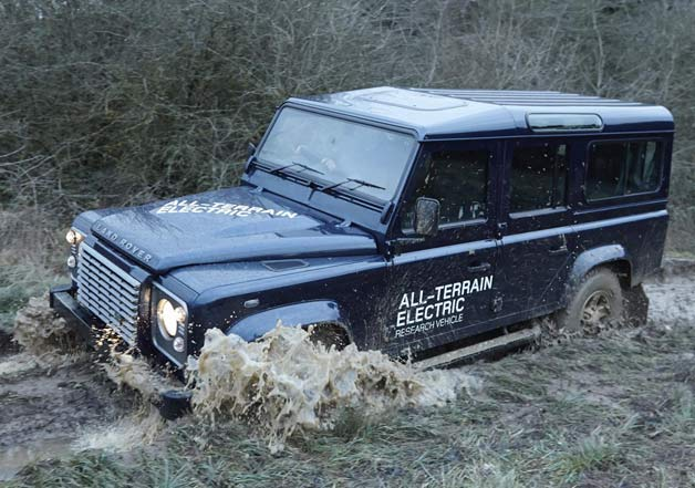 2013 Land Rover New Electric Defender