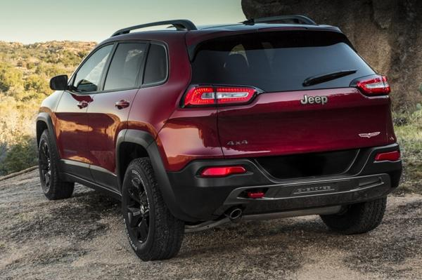 2014 Jeep Cherokee Back View
