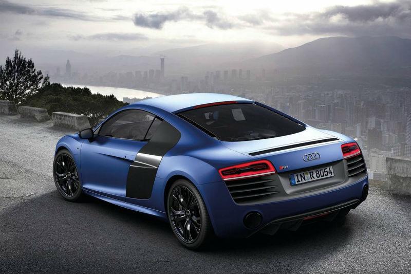 Audi R8 Back View