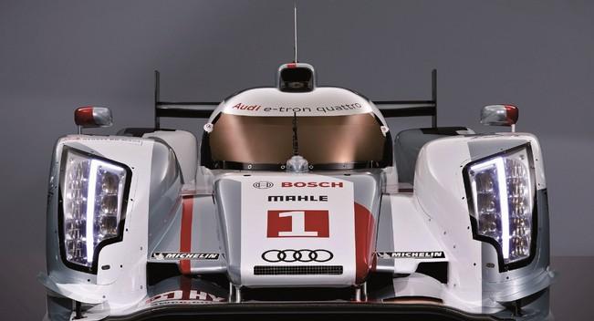 Audi diesel electric supercar