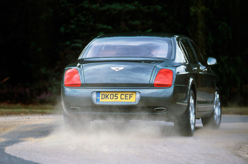 Bentley Flying Spur Back View