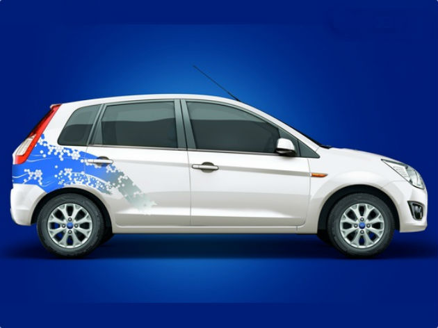 Ford Launches Figo at Rs 4.15 Lakh