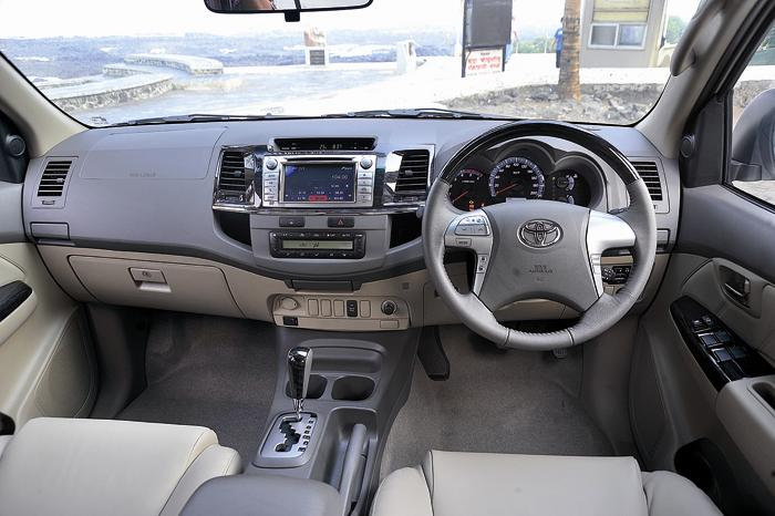 Toyota Fortuner Interior