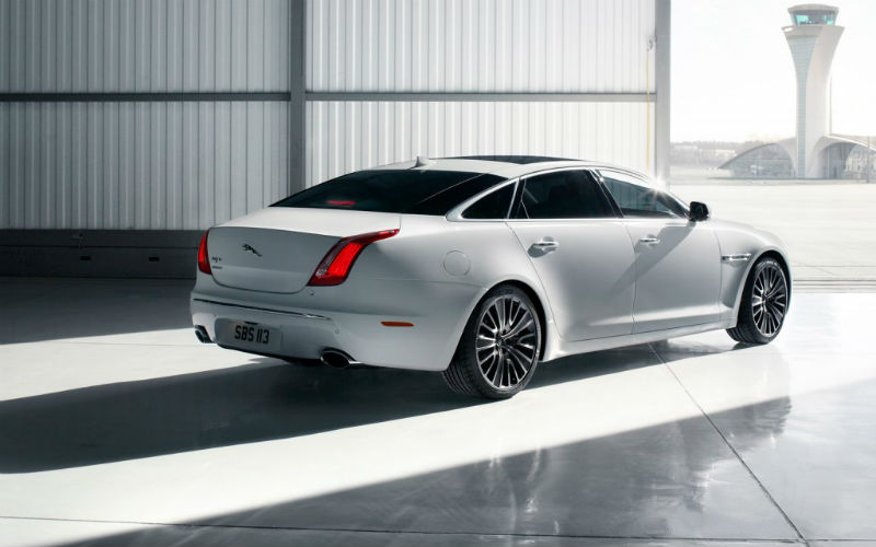 Jaguar XJ Back View