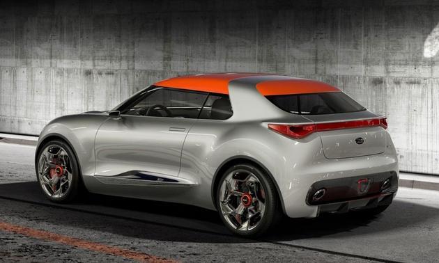 Kia Provo Concept Car Back View