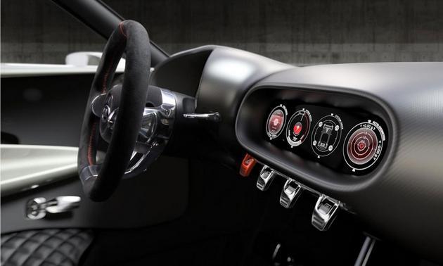 Kia Provo Concept Car Interior