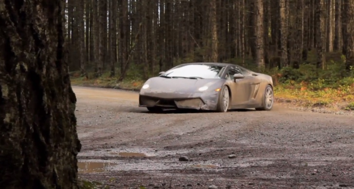 Lamborghini Gallardo Turned Into Rally Car