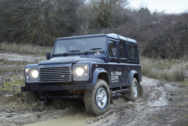 Land Rover New Electric Defender