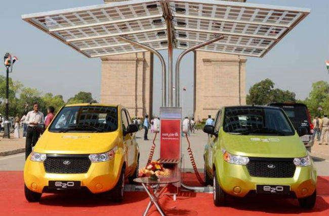 Mahindra Reva e2o all set to reduce running cost to 50 paise per km