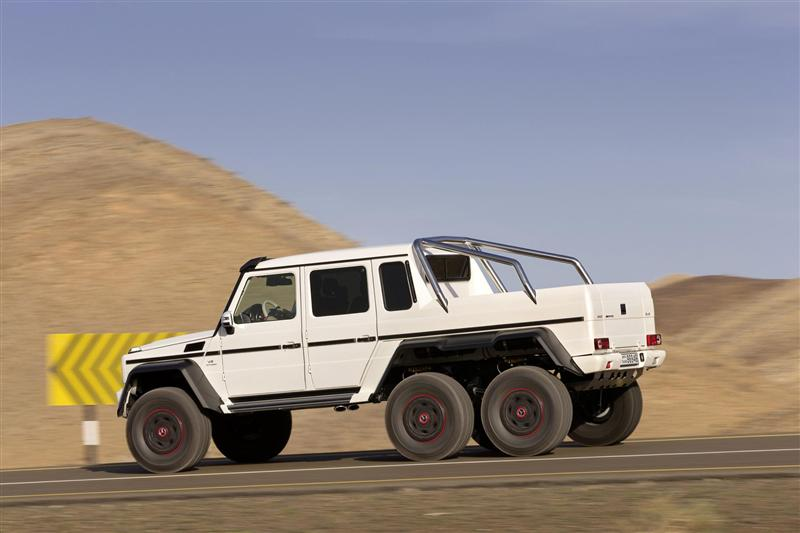 Mercedes-Benz G 63 AMG 6x6 Back View