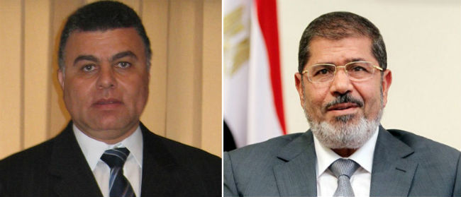 Mr. Mohamed Morsi And Mr. Osama Saleh