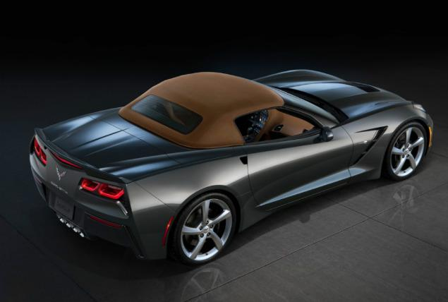 New Chevrolet Corvette Back View