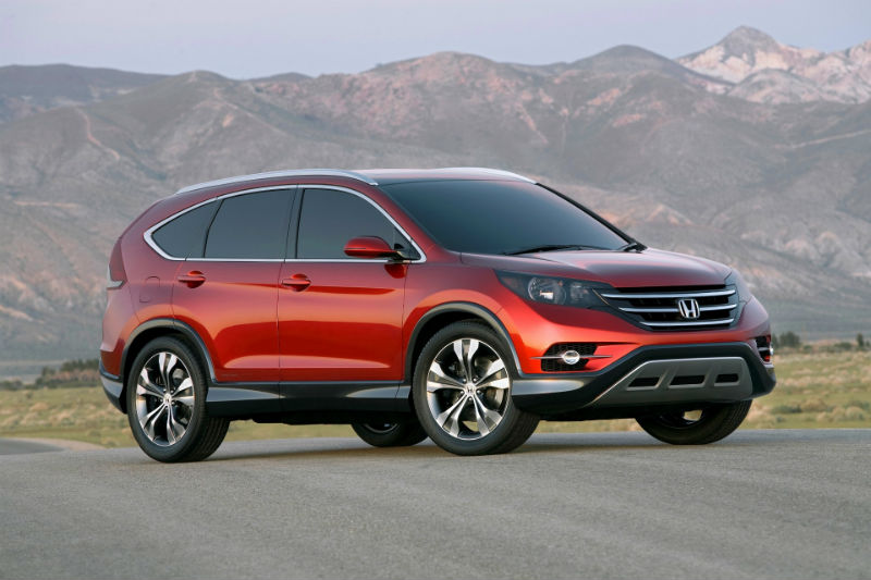New Honda CR-V in India