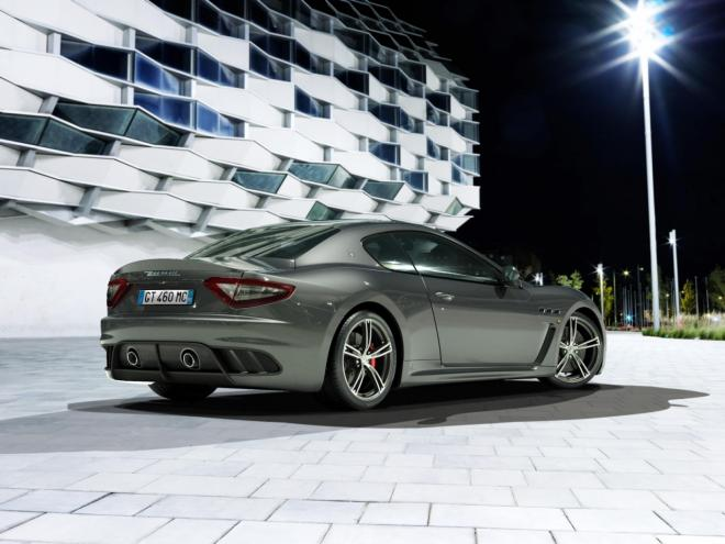 New Maserati GranTurismo MC Stradale Back View