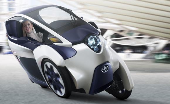 New Toyota i-Road