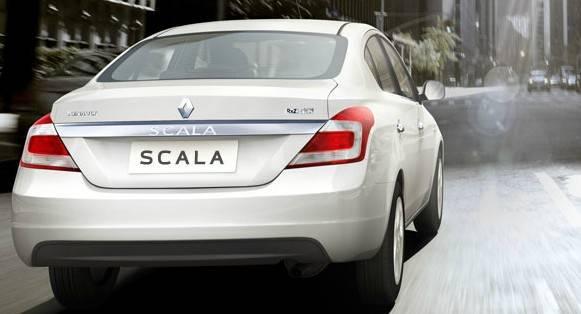Renault Scala CVT back view