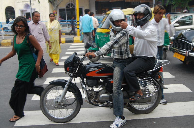 Road safety worst in India according to WHO