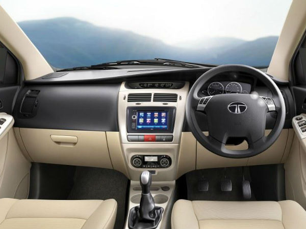 Tata Indica Vista D90 Interior
