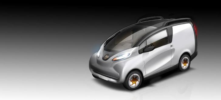Tata reveals eMO-C electric van