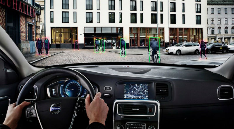 Volvo unveils cyclist detection system
