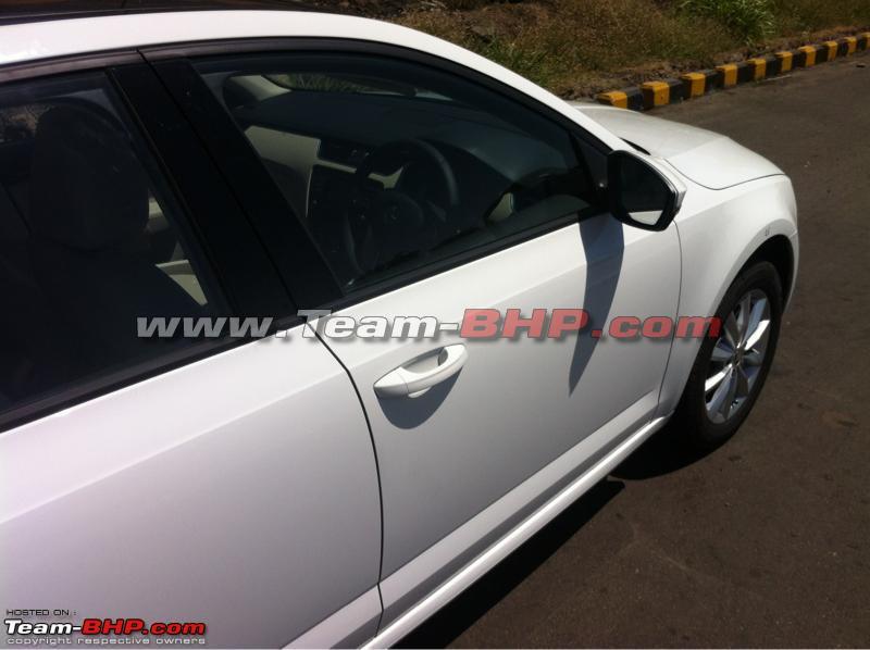 2013 Skoda Octavia Spotted Testing In Pune