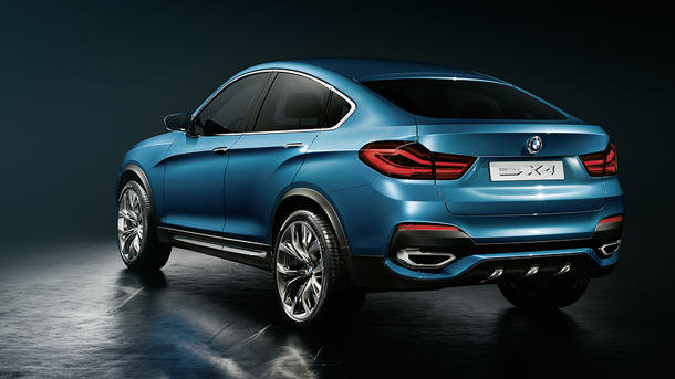 BMW X4 Concept Back View