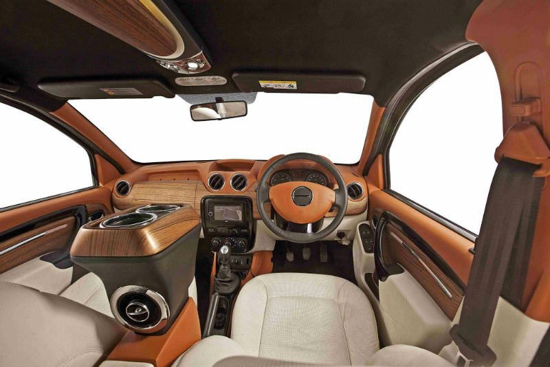 DC Design Modifies The Renault Duster Interior
