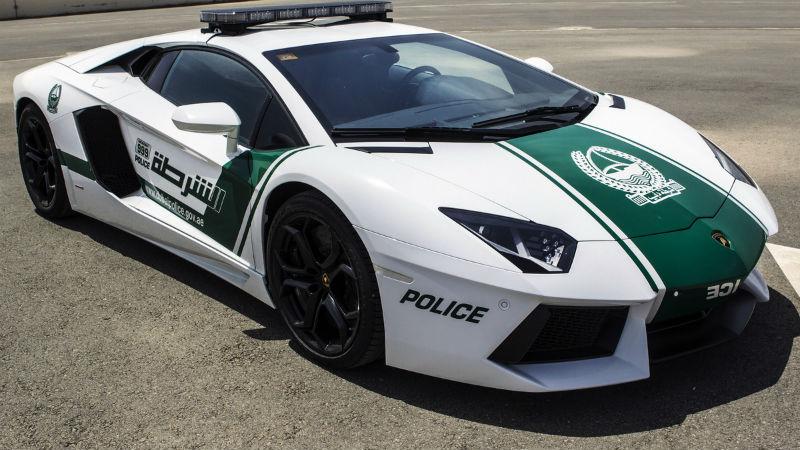 Dubai Police Adds $550,000 Lamborghini Aventador