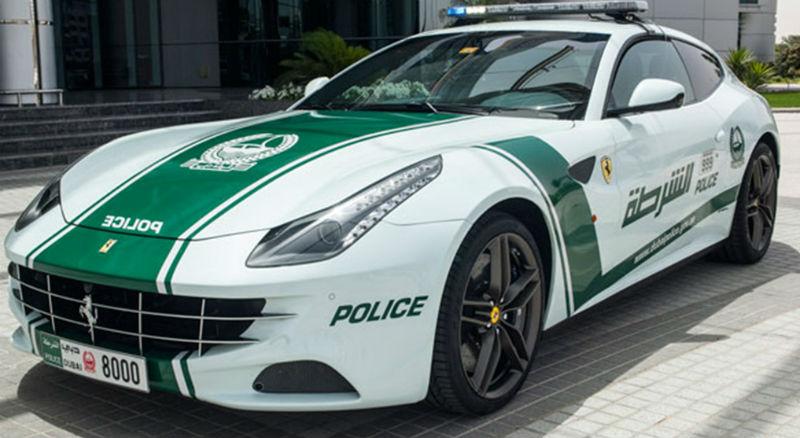 Ferrari FF joins Dubai police fleet