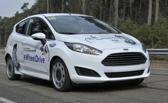 Fiesta eWheelDrive Car