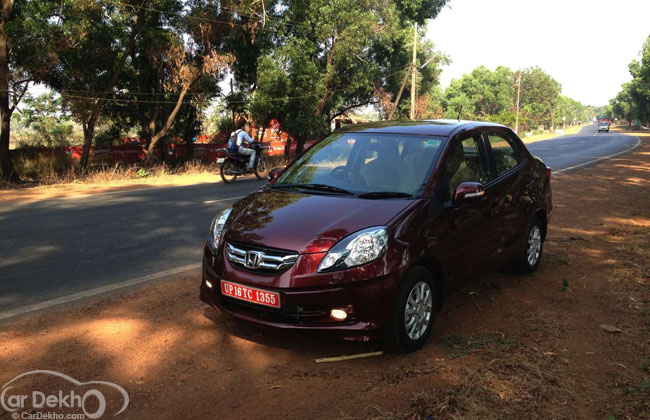 Honda Amaze Delivers 25 8 Kmpl From Its New Diesel Engine Launch On