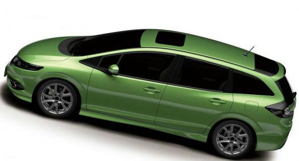 Honda Jade Back View