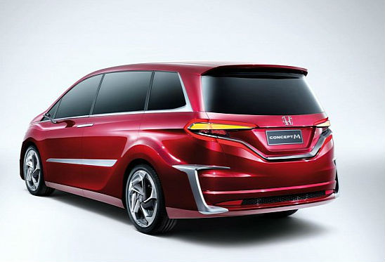 Honda concept M Back View