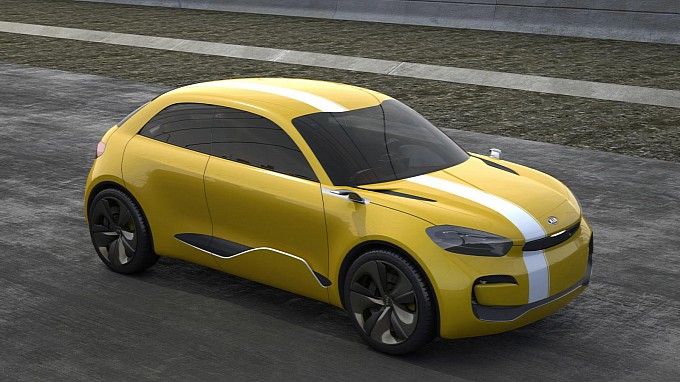 Kia Reveals Its Cub Concept