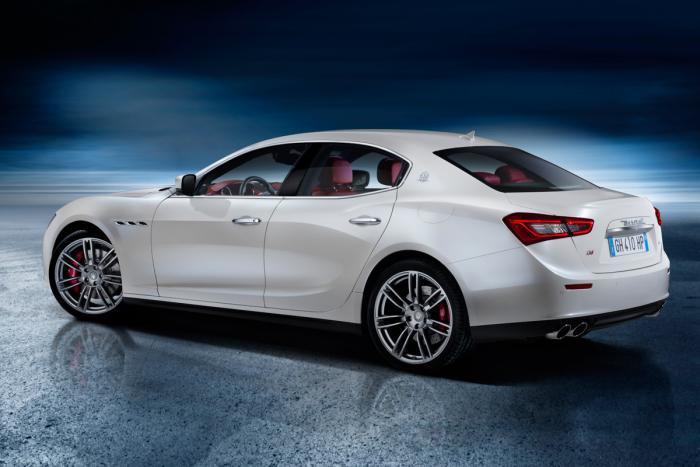 Maserati Ghibli Back View