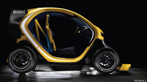 Meet Renault's F1-Inspired Twizy