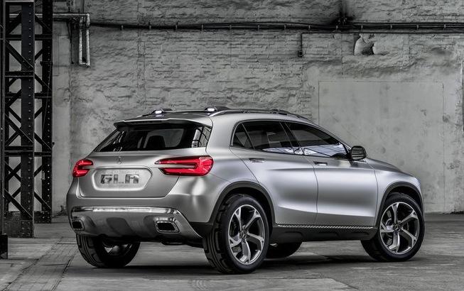 Mercedes-Benz GLA Back View