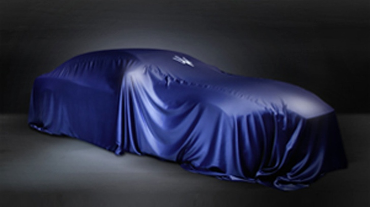 New Maserati Teased