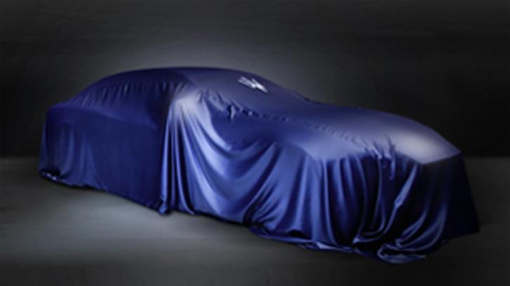 New Maserati Teased