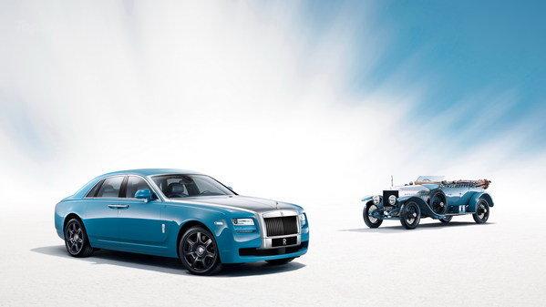 New Rolls-Royce Ghost Alpine Trial