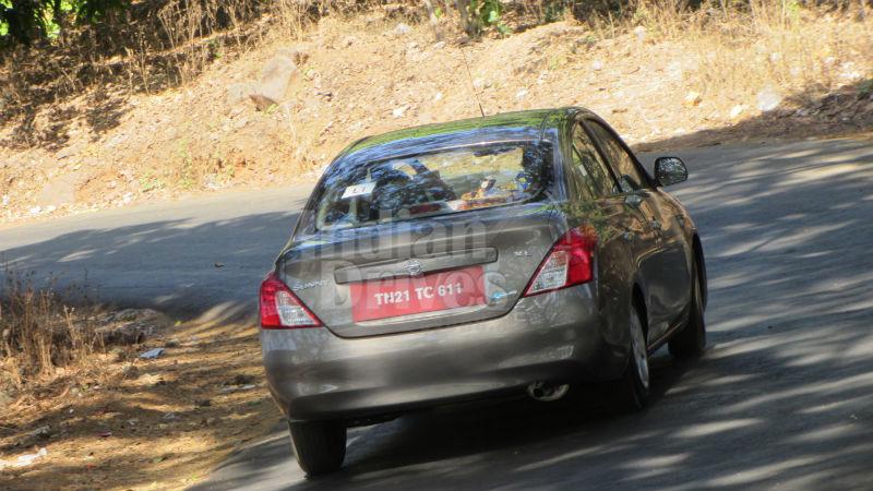 Nissan Sunny XL CVT Back View