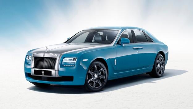 Rolls-Royce Ghost Alpine Trial